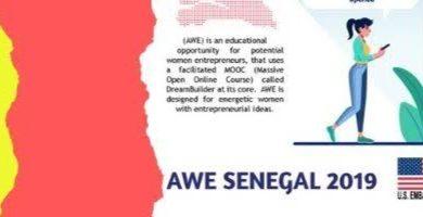 Coopération USA-SENEGAL: Offre de formation en entrepreneuriat pour les femmes sénégalaises, avec le soutien de l'Ambassade des USA à Dakar