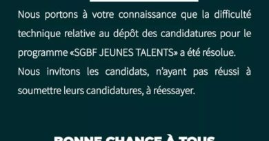 Burkina Faso: Appel à candidature à SGBF Jeune talent