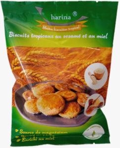 Biscuits tropicaux au sésame et au miel