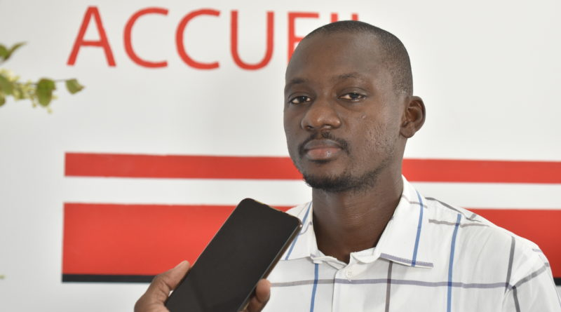 M. Yann TOE, responsable de la Maison de la PME