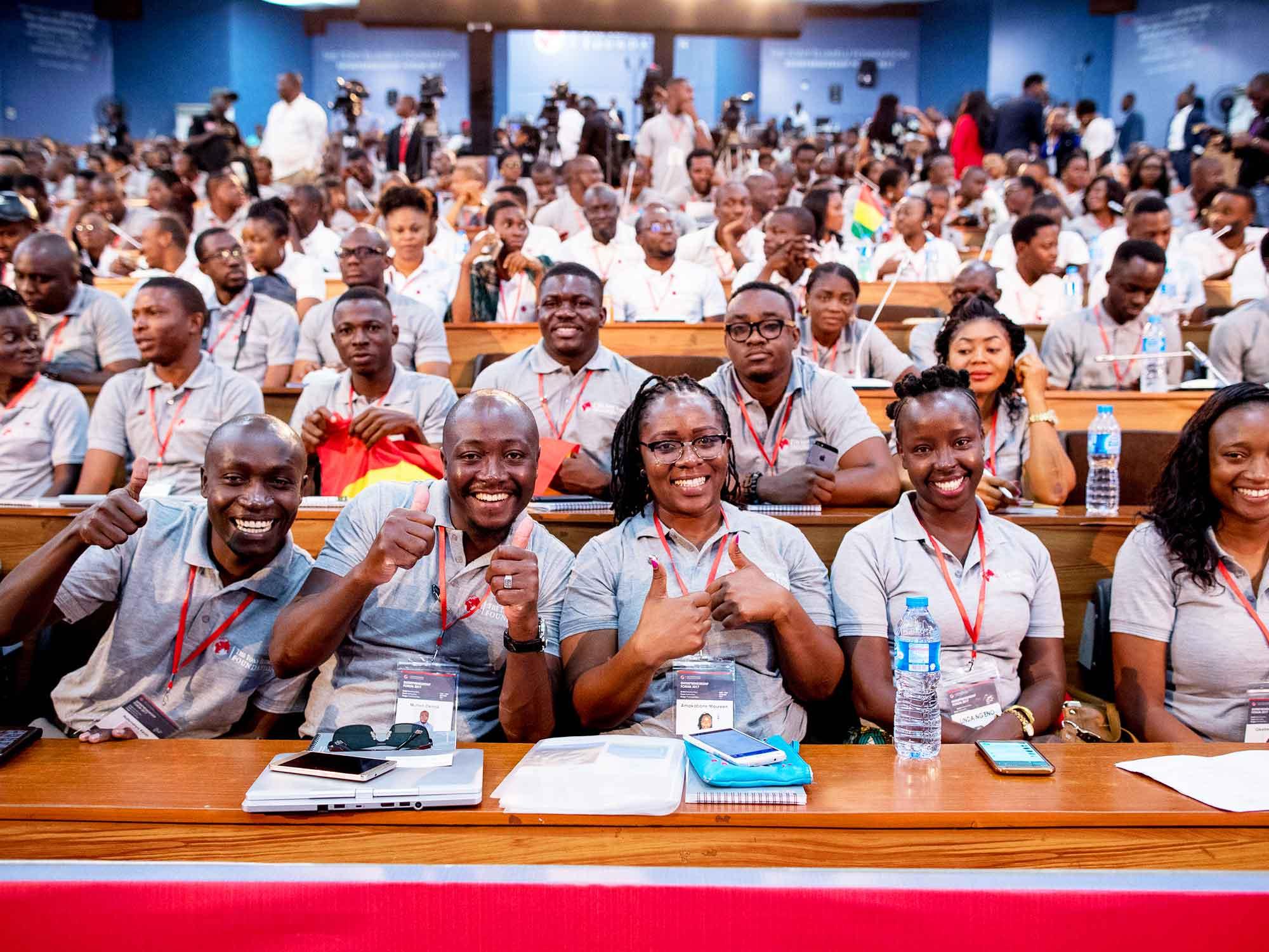 Participants à la TEF 2019