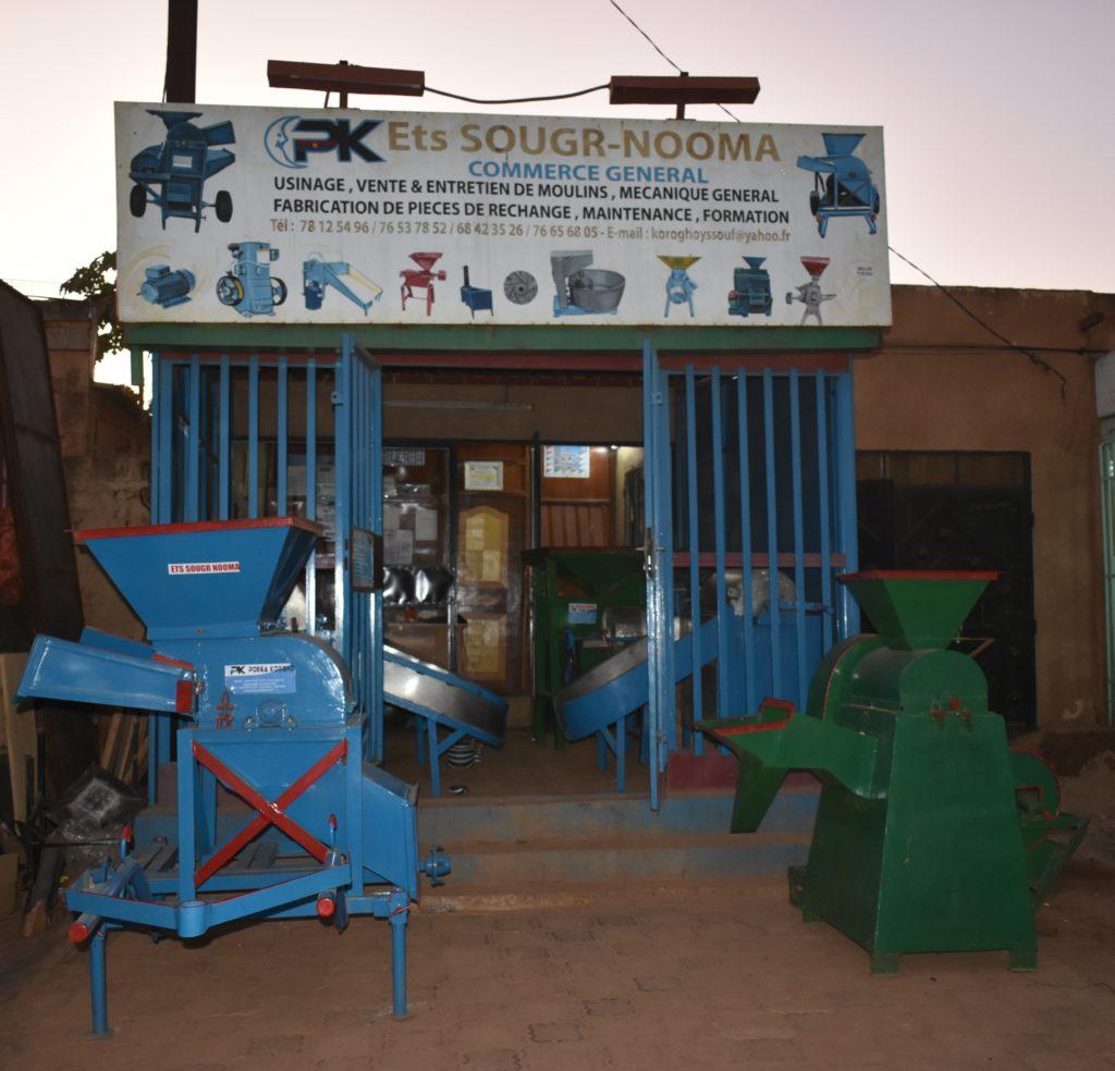 Boutique Sougr Nooma à la patte d'oie