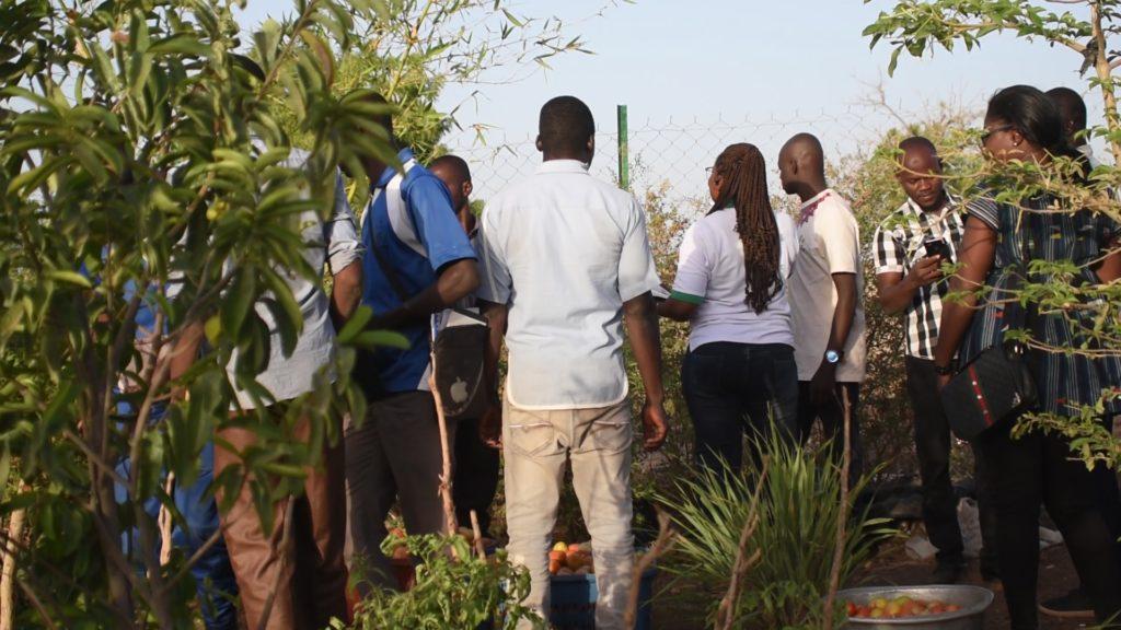 Vue des participants