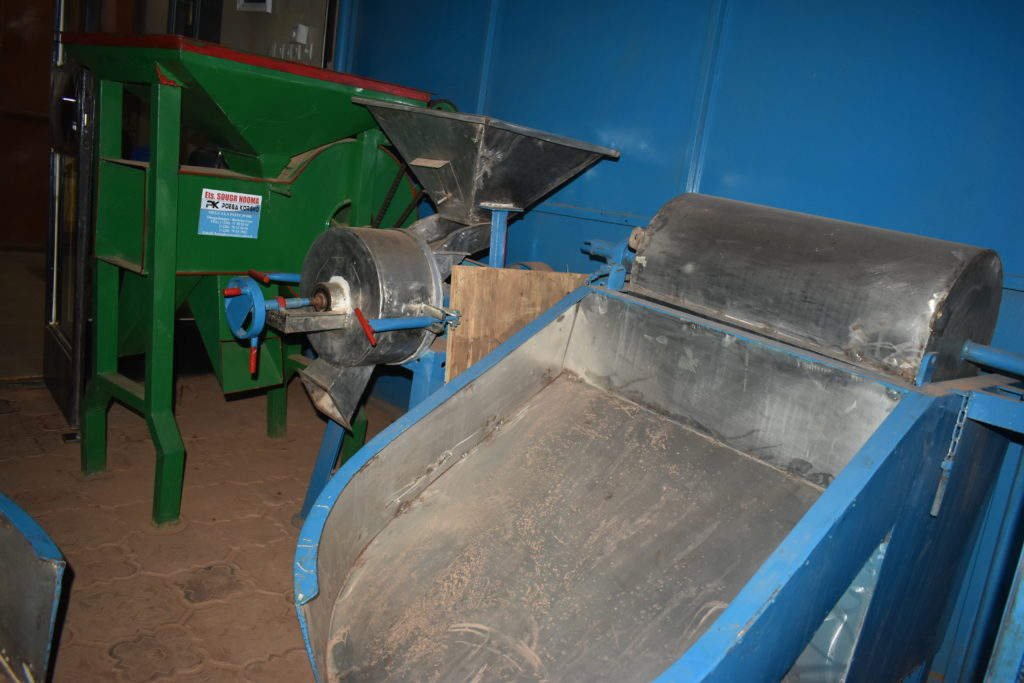 Vue de quelques machines fabriquées
