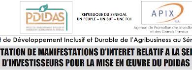 Sénégal: Sélection d'investisseurs
