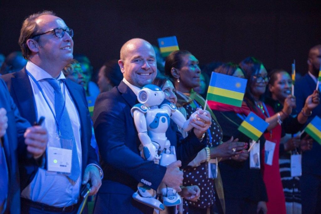 Cérémonie de la Journée du Rwanda, l'année dernière en Allemagne