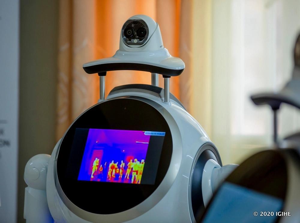 Un des robots acquis par le Rwanda