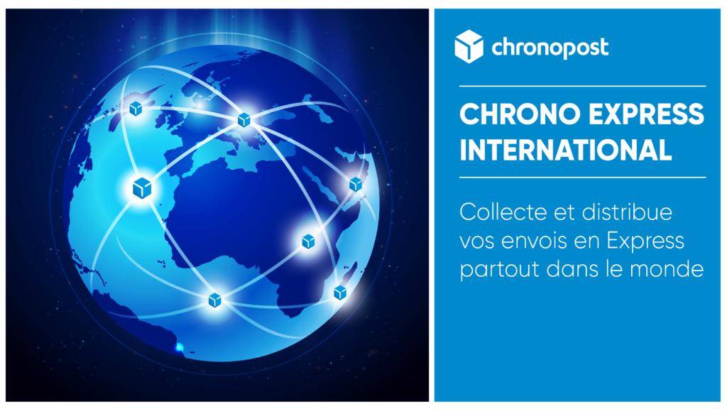 Zones de couverture de Chronopost Burkina