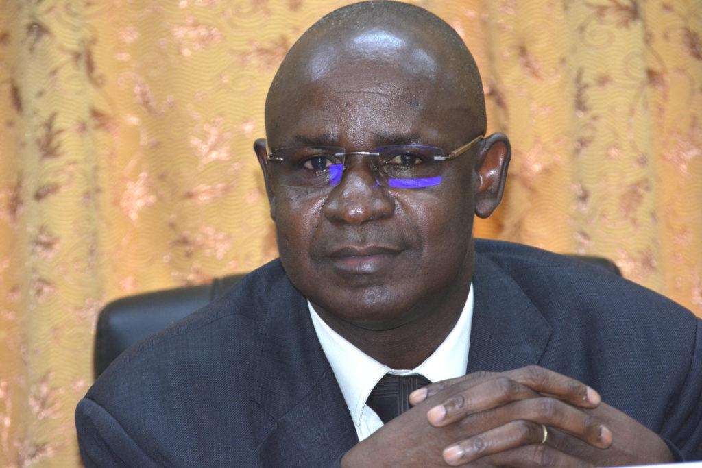 Mr Christophe BAYE, manager général de Chronopost Burkina