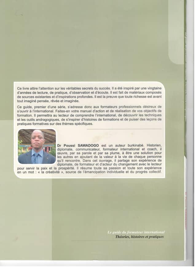 """Couverture du """"Guide du formateur international"""""""