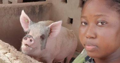 Laurence Mélissa KAFANDO, promotrice de la ferme LMK