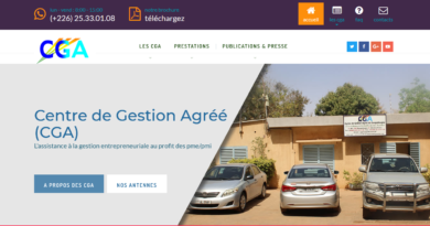 Les Centres de Gestion Agréés CGA Burkina Faso