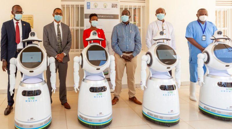 Robots Rwandais pour la lutte contre la Covid_19