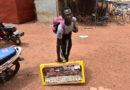 Cyrille Ouédraogo, vendeur ambulant d'accessoires de mode à Ouaga