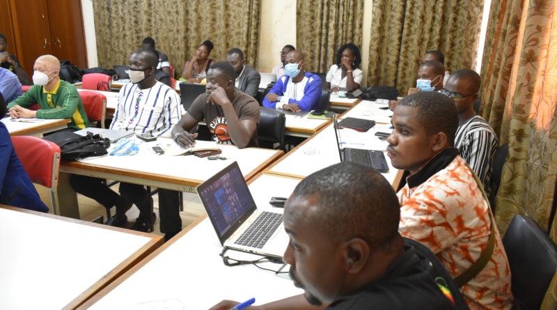 Vue des participants à la formation sur la management des projets de devéloppement