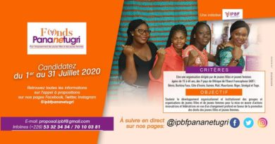 Fonds Pananetugri :Opportunités pour jeunes filles et femmes