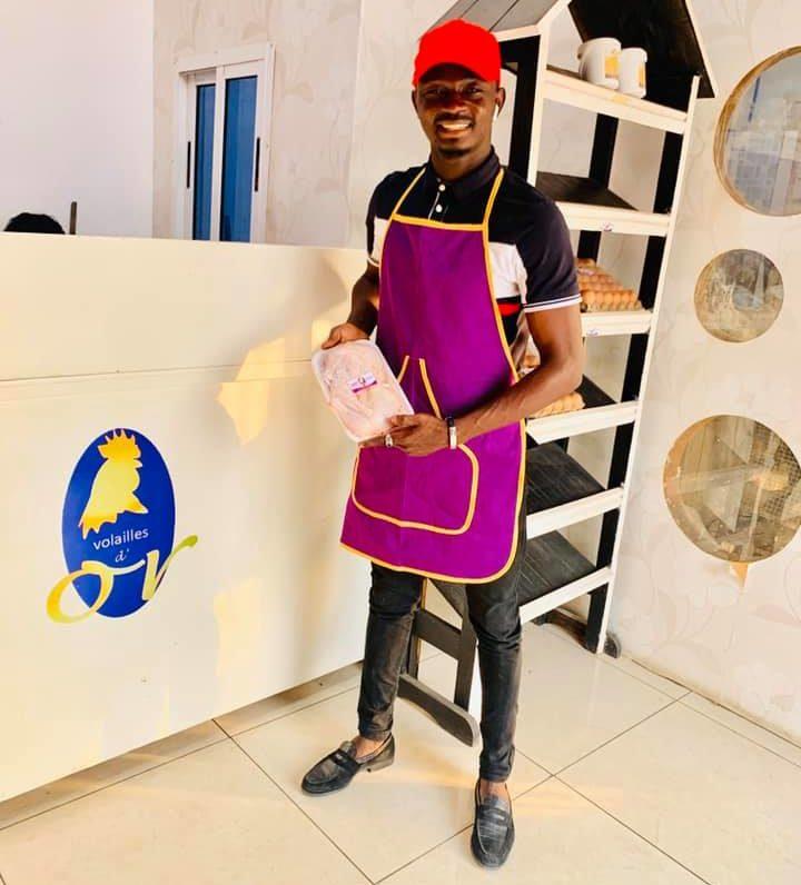 Ben Aziz Konaté, PDG de Volailles d'Or
