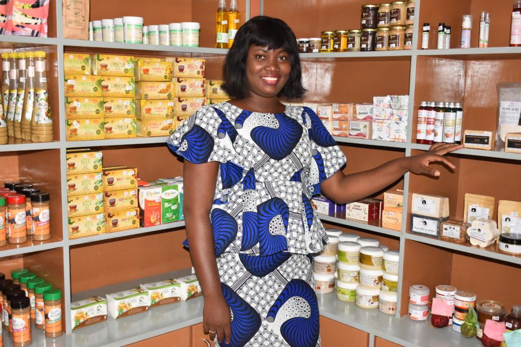 Anna Rabi Samda, la directrice des opérations de Agribusiness Shop