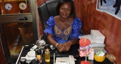 Mme Djiguimde Leatitia, directrice de la Ferme Onesime BF