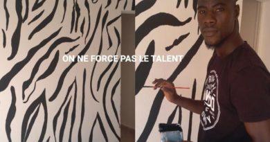 Daouda Paré, peintre décorateur sur bâtiment
