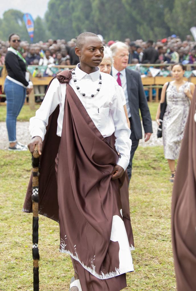 Emmanuel Niringiyimana, à une cérémonie sur le tourisme rwandais