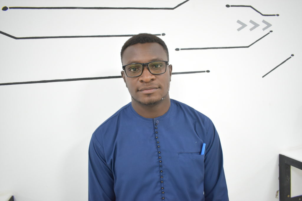 Josué Gerson Bambara, participant à la formation