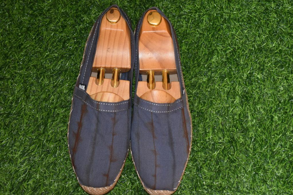 Chaussures Hana faite à base de tissus Koko donda