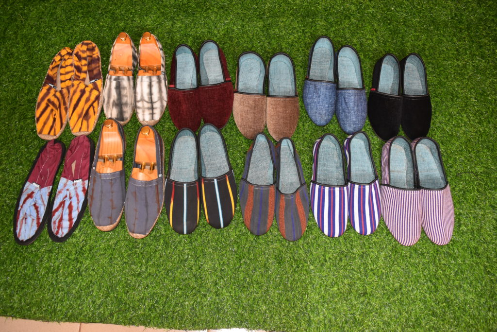 Echantillon des chaussures Hana