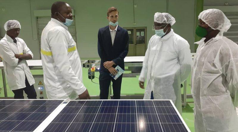 Faso Energy: La première usine de fabrication de plaques solaires en Afrique de l'Ouest inaugurée au Burkina Faso