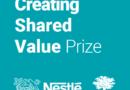 Nestlé Creating Shared Value Prize: 250 000 CHF à remporter