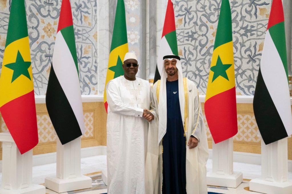 Le président Macky Sall et le Sultan bin Sulayem, président de DP World