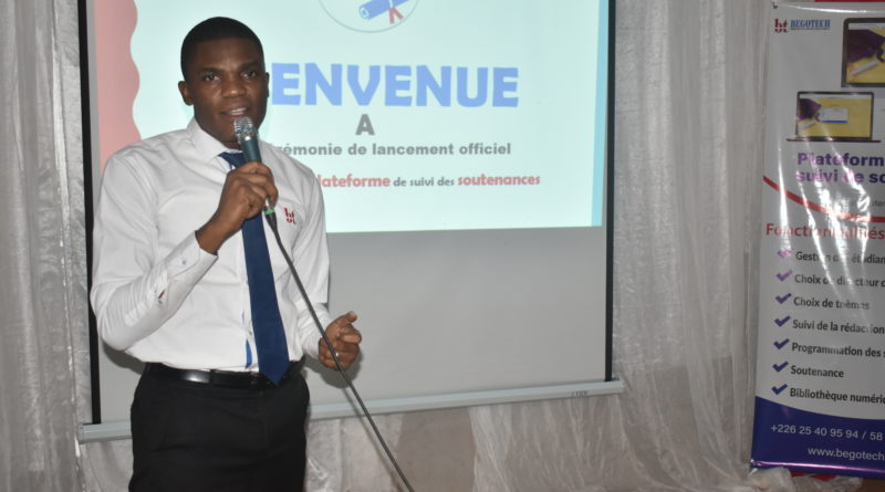 Saïdou SANOU, Directeur Général de BEGOTECH