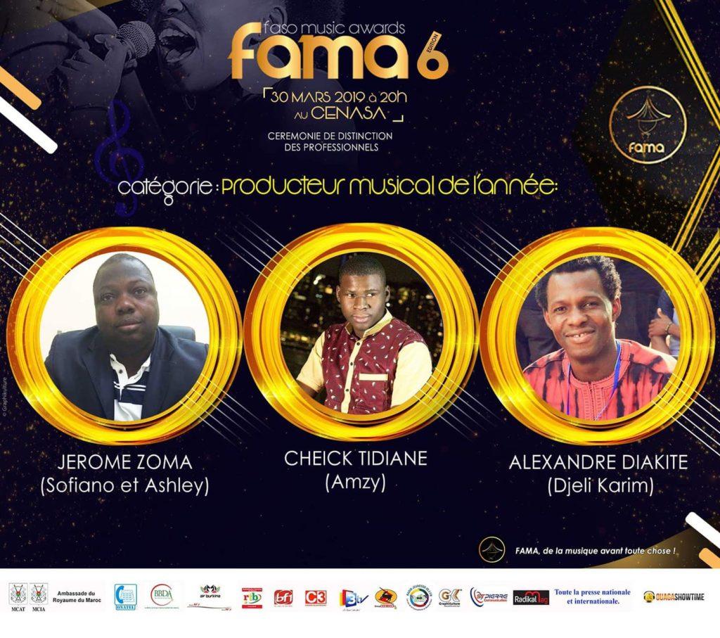 Nomination de Tidi au Fama 2019
